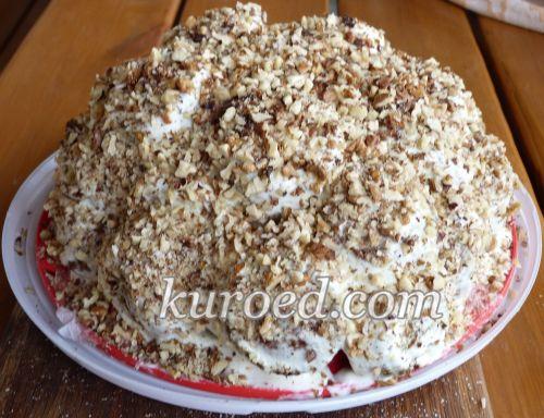 Медово-ореховый торт