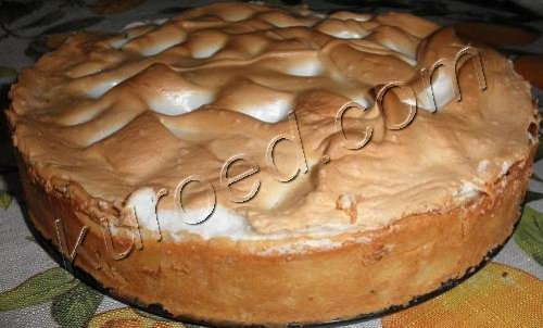Фруктовый пирог пошаговое фото