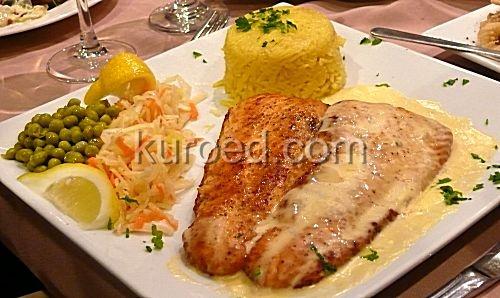 лосось с рисом